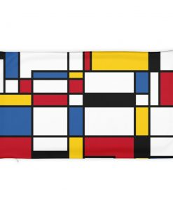 Mondrian Colorful Pillow Case only