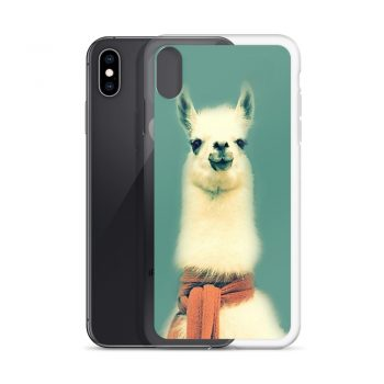 Funny LLama Custom iPhone X Case
