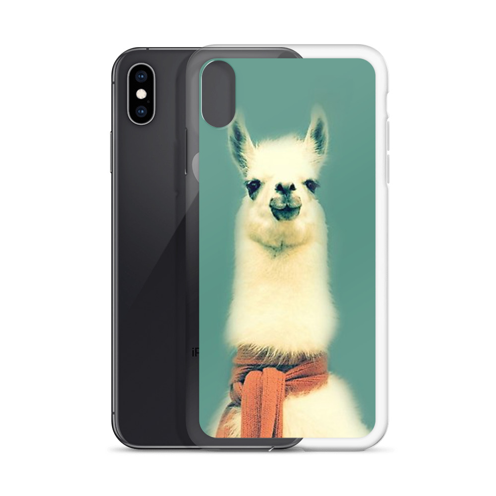 huge discount 03723 bd5c6 Funny LLama Custom iPhone X Case, iPhone XS, iPhone XR And More