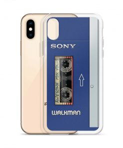 Classic Walkman Custom iPhone X Case