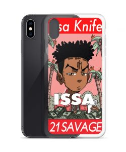 Issa Knife 21 Savage Custom iPhone X Case