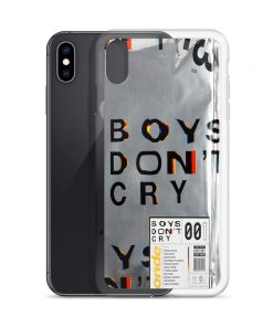 Boy's Don't Cry Custom iPhone X Case