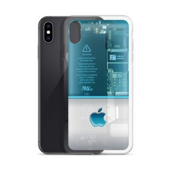 iPhone Part Transparant Custom iPhone X Case