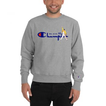 Freddy Mercury We Are The Champion Sweatshirt