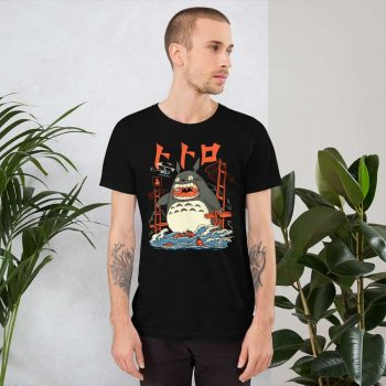 Totoro Neighbor Attack Custom Unisex T Shirt