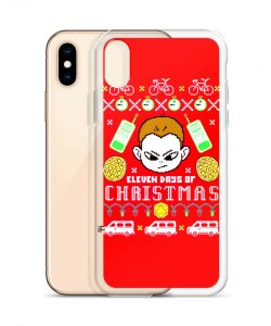 Eleven Days Of Christmas Stranger Things Custom iPhone X Case