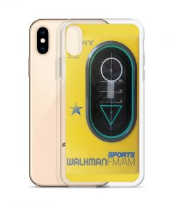 Classic Sport Walkman Custom iPhone X Case