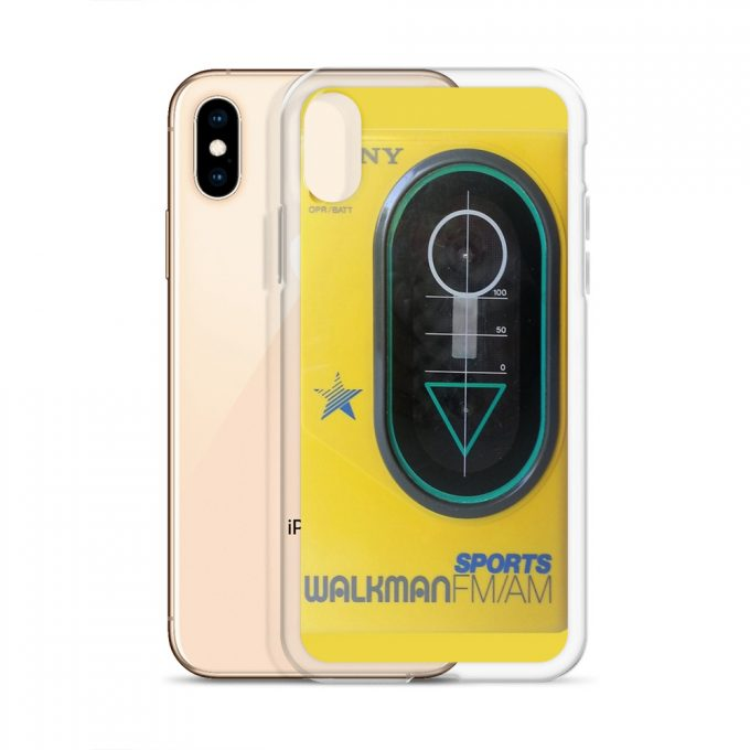 Classic Sport Walkman Custom iPhone X Case