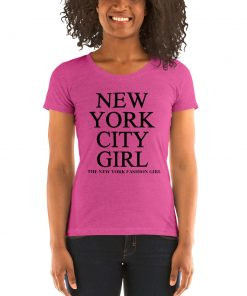 New York City Fashion Girl Women T Shirt