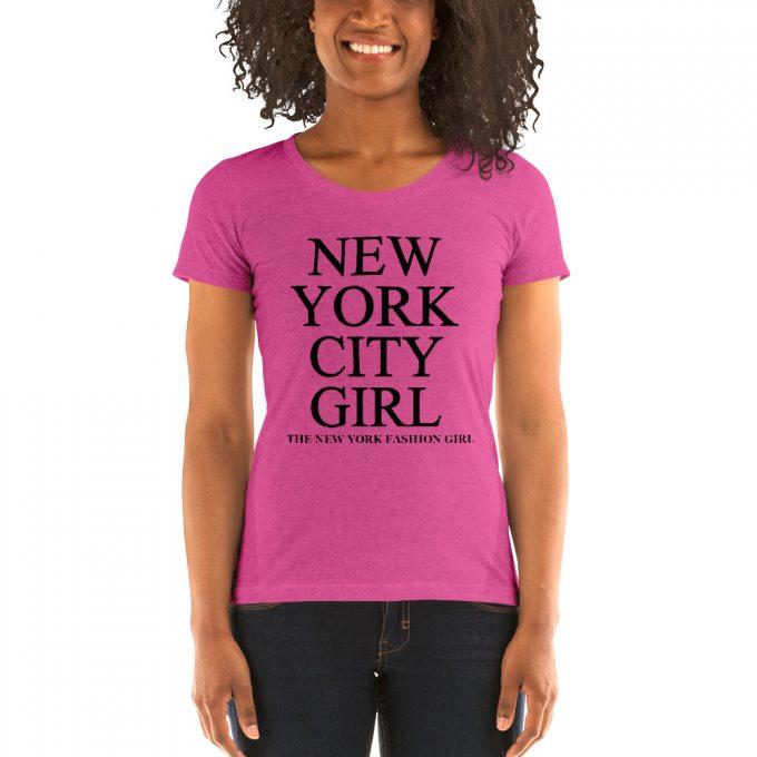 New York City Fashion Girl Women T Shirt
