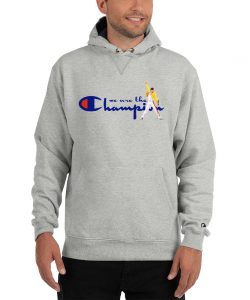 We Are The Champion Freddy Mercury Hoodie