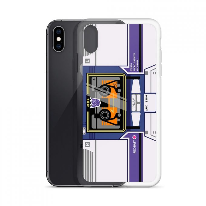 Soundwave Bombox Custom iPhone X Case