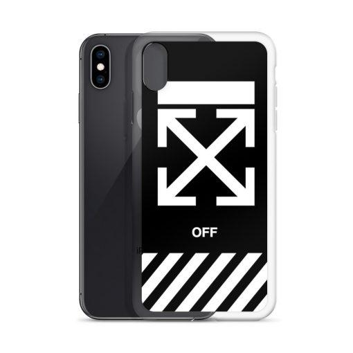 Off-White Cross Custom iPhone X Case