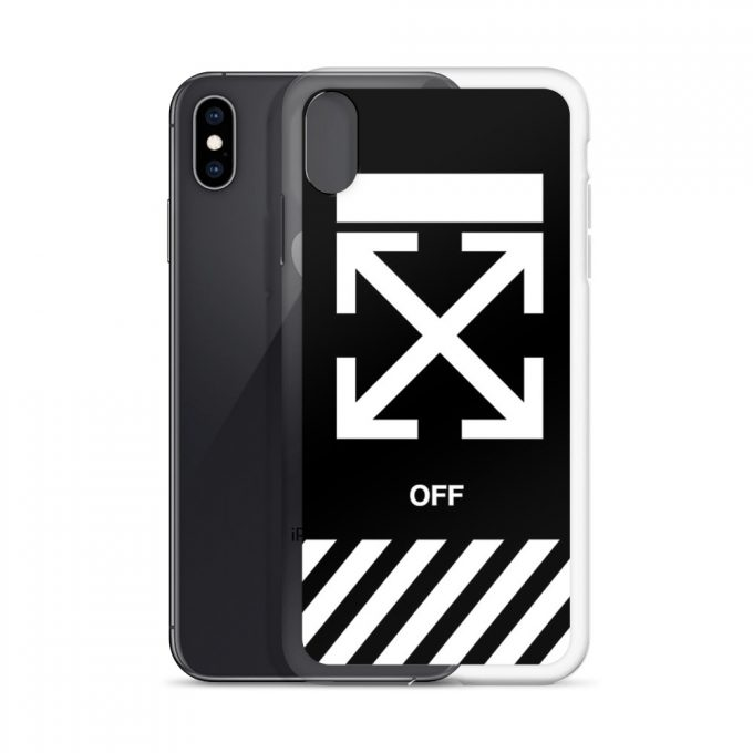Off-White Cross Custom iPhone X Case