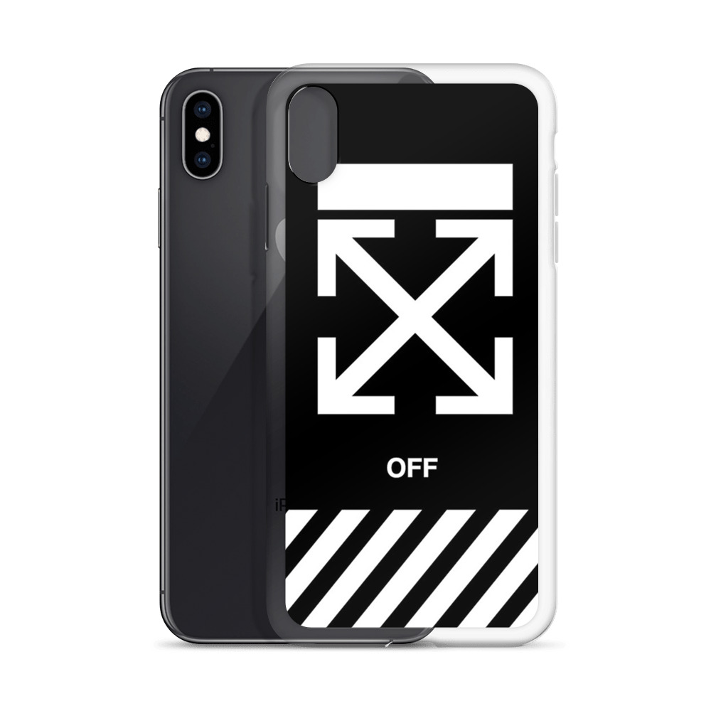 iphone xs off white phone case