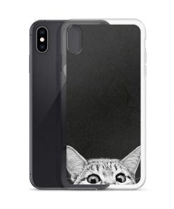 Cute Sleep Cat Custom iPhone X Case