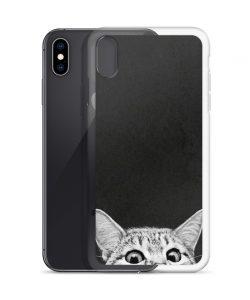 Cute Sleep Cat Custom iPhone X Case