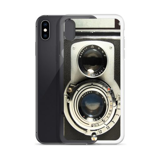 Vintage Camera Custom iPhone X Case