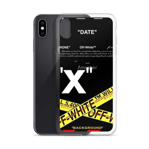 Date Off White Custom iPhone X Case