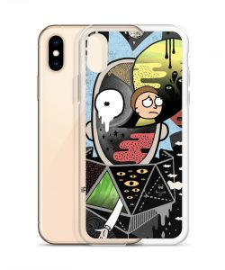 Polarickty Rick Morty Custom iPhone X Case