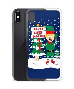 Elves Lives Matter Christmas Custom iPhone X Case