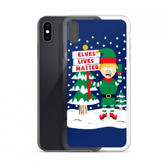 Elves Lives Matter Christmas Custom iPhone X Case