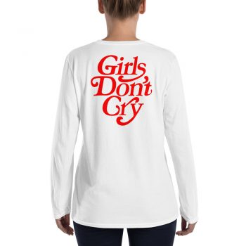 Girls Don't Cry Women Long Sleeve T Shirt back