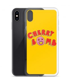 Cherry Bomb Hiphop Custom iPhone X Case
