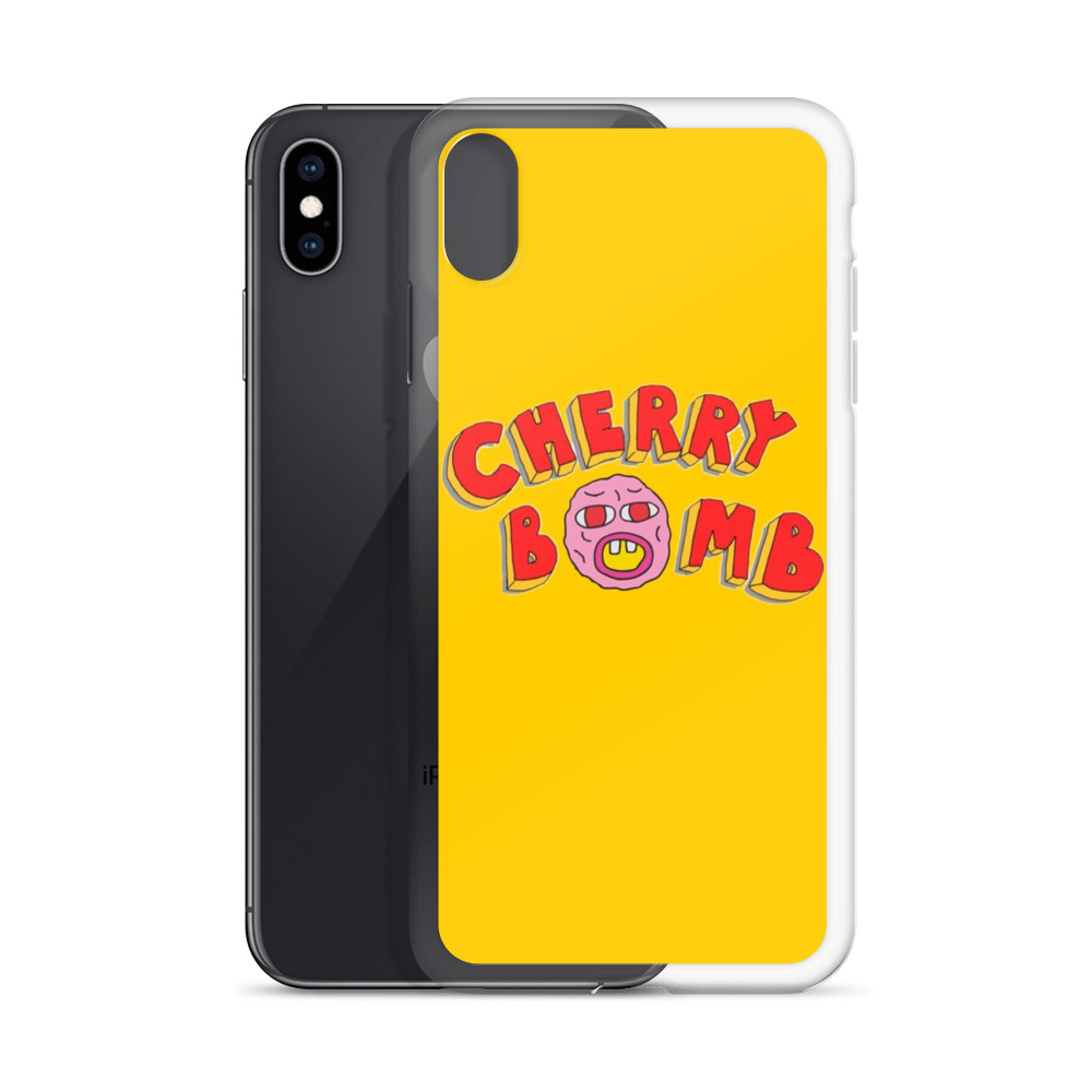 new product bc82d 10b70 Cherry Bomb Hiphop Custom iPhone X Case, iPhone XS, iPhone XR And More