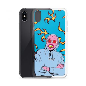 Earl Sweatshirt Golf Pattern Custom iPhone X Case