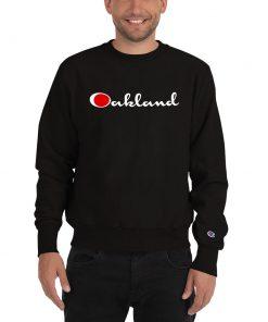Oakland Champion Unisex Sweatshirt