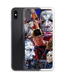 Vintage Horror Characters Custom iPhone X Case
