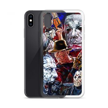 Vintage Horror Characters Custom iPhone X Case