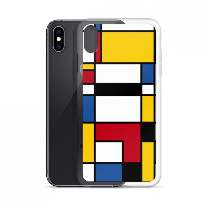 Mondrian Colorful Custom iPhone X Case