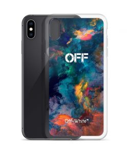 Off-White Nebula Galaxy Custom iPhone X Case