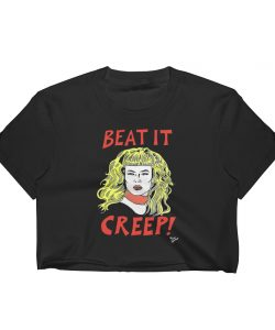 Beat It Creep Cry Baby Wanda Woodward Women Crop Tee