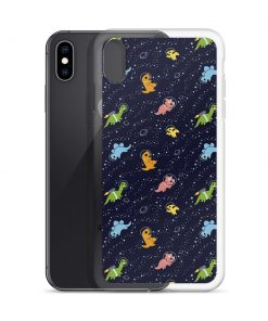 Dino In Space Custom iPhone X Case