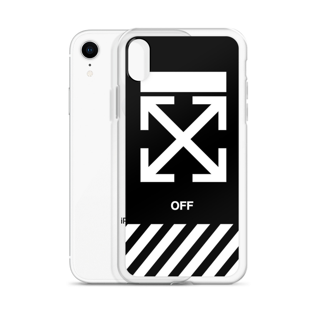 outlet store dbf1a c9a1e Off-White Cross Custom iPhone X Case, iPhone XS, iPhone XR And More