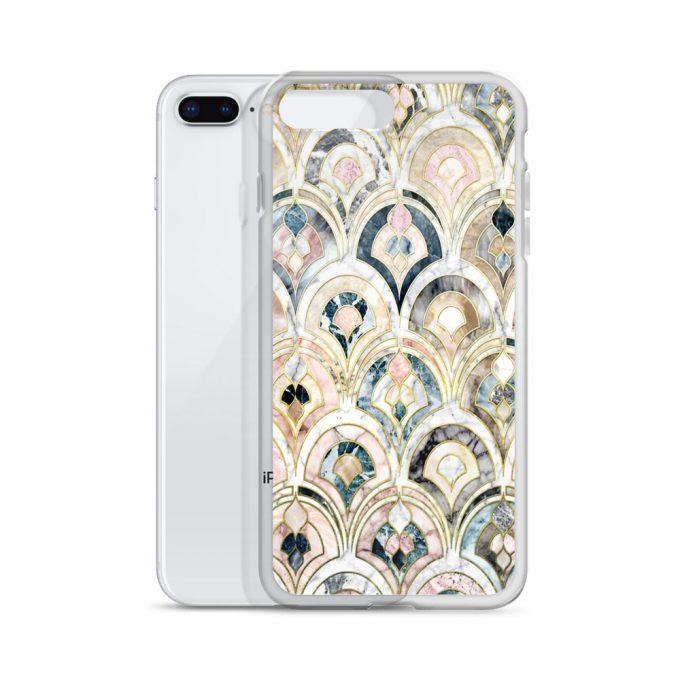 Art Deco Marble Custom iPhone X Case