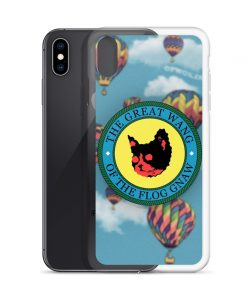 The Great Wang Of The Flog Gnaw Custom iPhone X Case