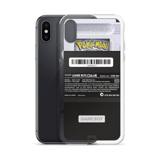 Black Gameboy Custom iPhone X Case