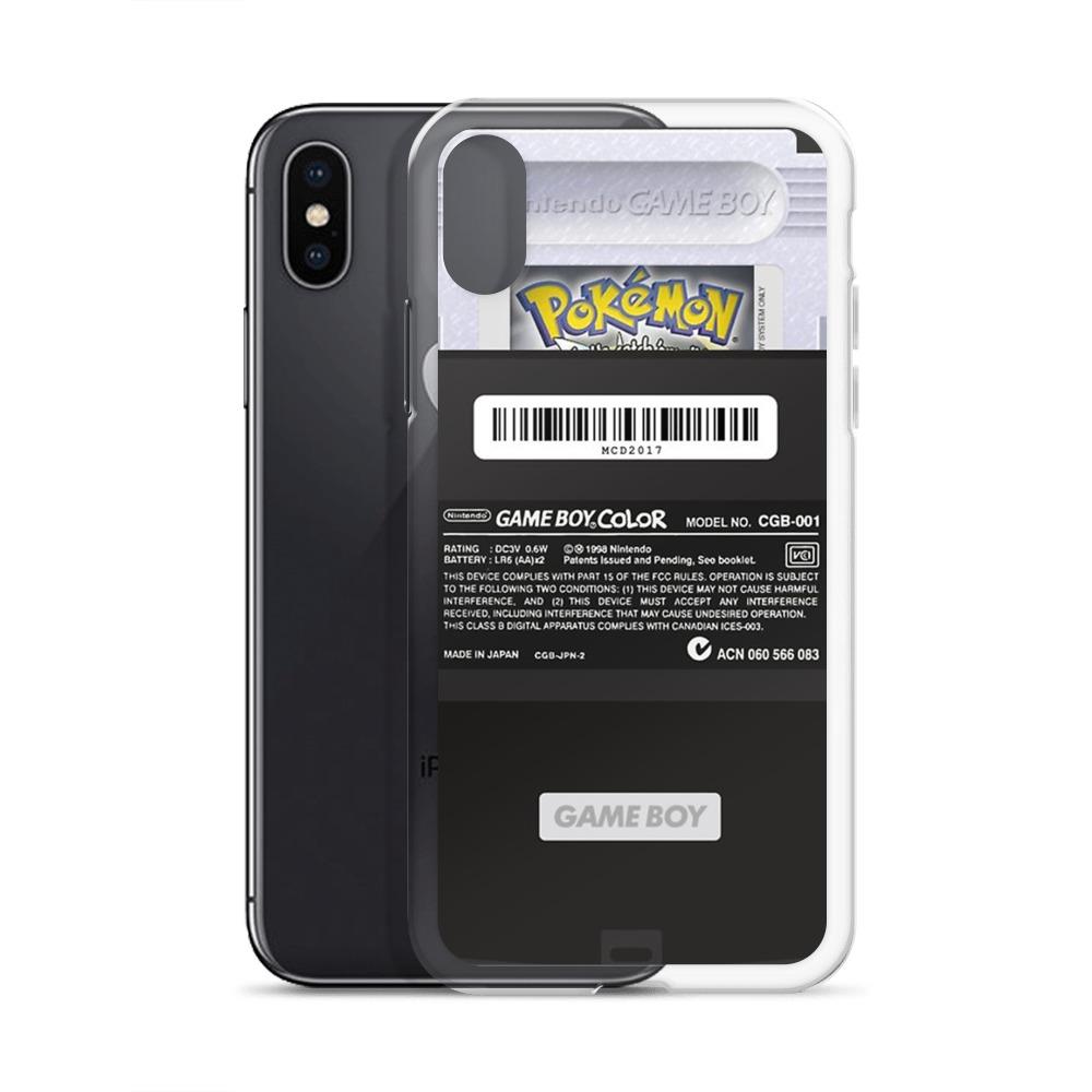 buy online 47852 18eec Black Gameboy Custom iPhone X Case, iPhone XS, iPhone XR And More