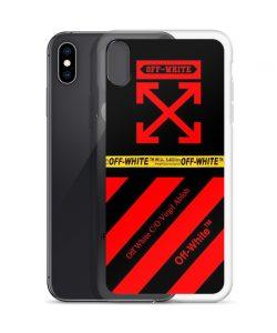 Red Cross Off-White Custom iPhone X Case