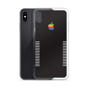 Vintage Black Apple iPhone X Case