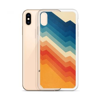 Barricade Colorful Custom iPhone Xs Case
