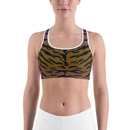 Awesome Tiger Pattern Sports bra