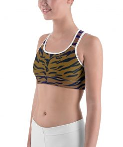 Awesome Tiger Pattern Sports bra