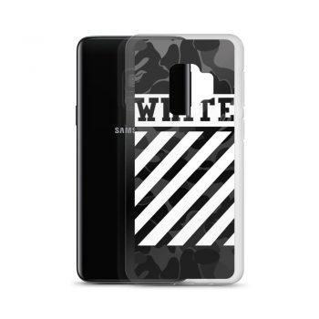 Cross Off White Camo Samsung Case