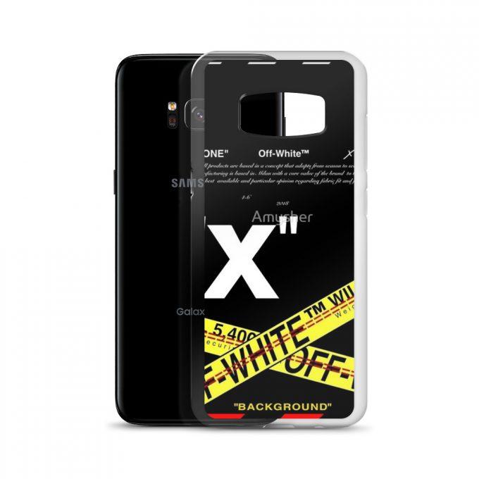 Best Cross Off White Samsung S8 Case