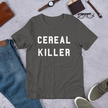 Cool Cereal Killer Unisex T Shirt